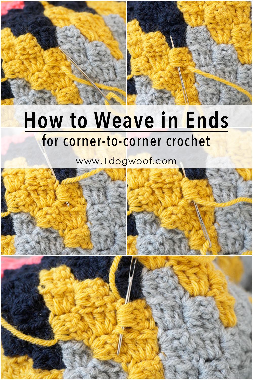 9 Corner to Corner Crochet Pictorials for Beginners - One