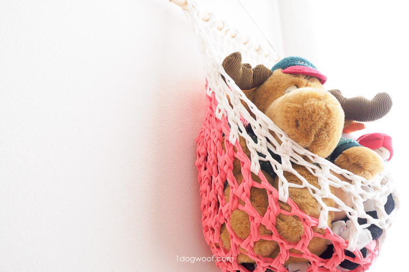 fabric yarn hanging basket