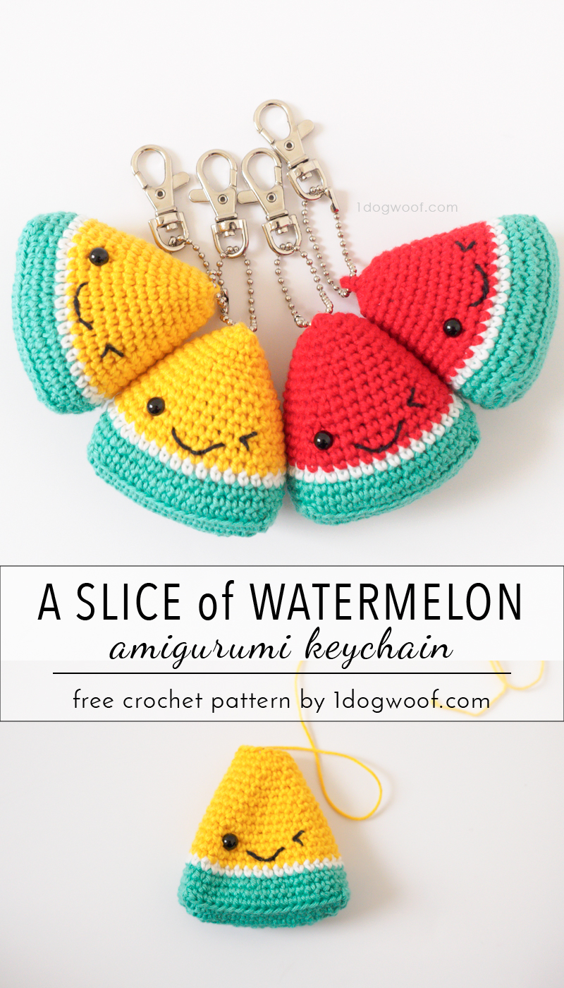 Crochet Dog Keychain Amigurumi Free Patterns | 1400x800