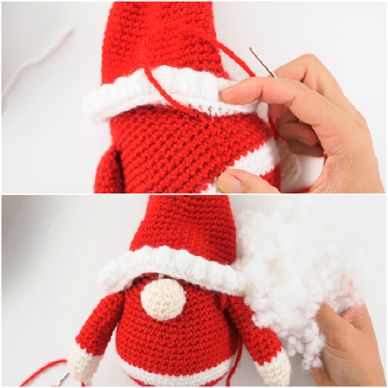 Here Comes Santa! pattern by Melissa Trotter | Christmas crochet ... | 800x800