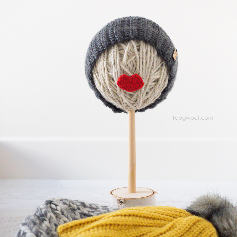 yarn ball craft fair hat stand