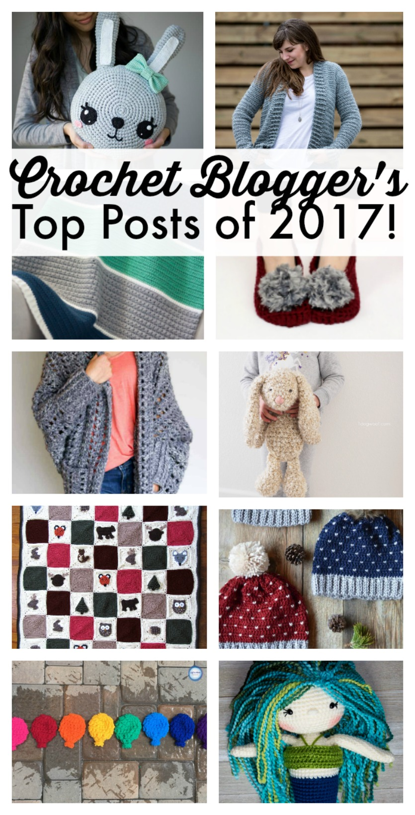 crochet bloggers top posts 2017