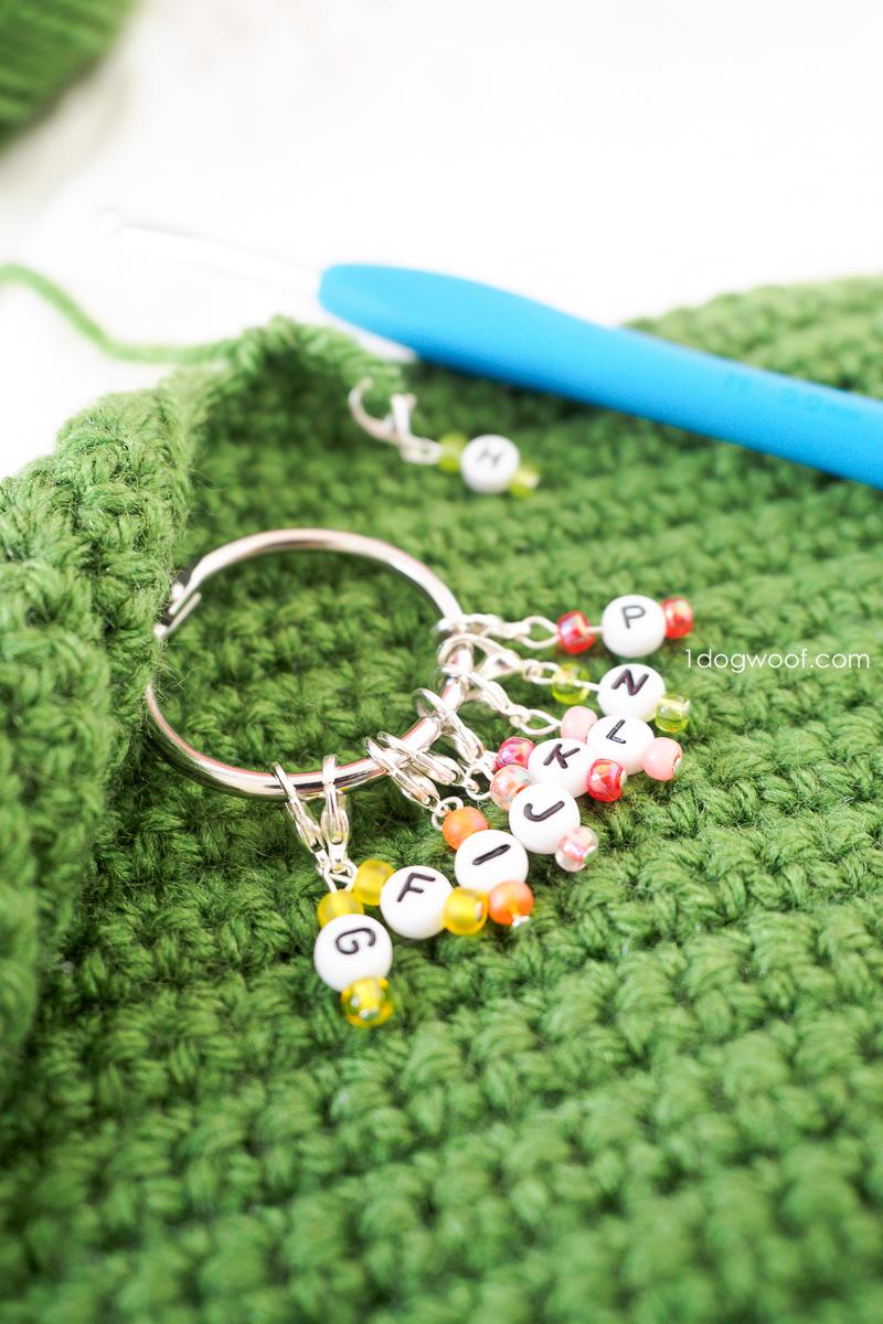 Easy DIY Crochet Size Markers
