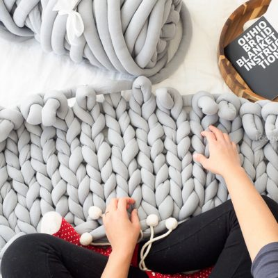 Ohhio Braid Blanket DIY Kit Review