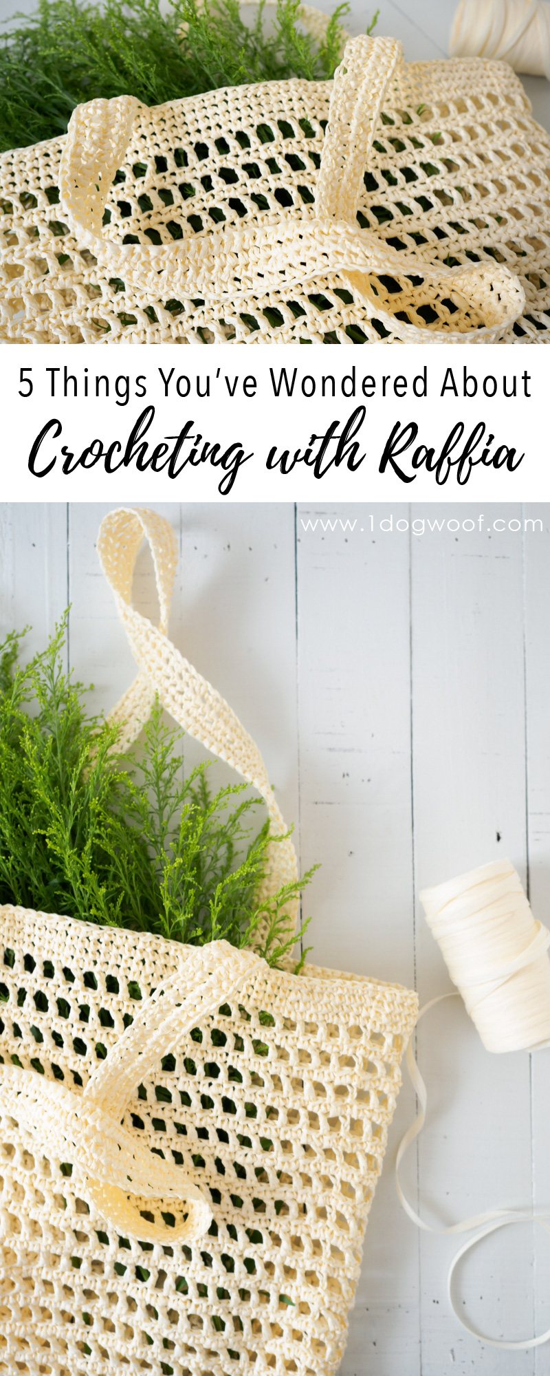 5 Things You've Wondered About Crocheting with Raffia