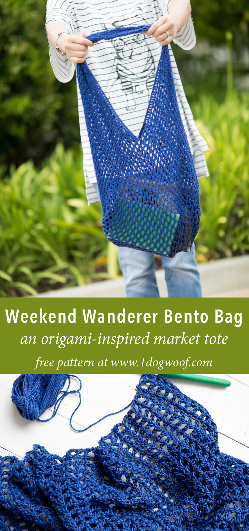 mesh bento bag pin image