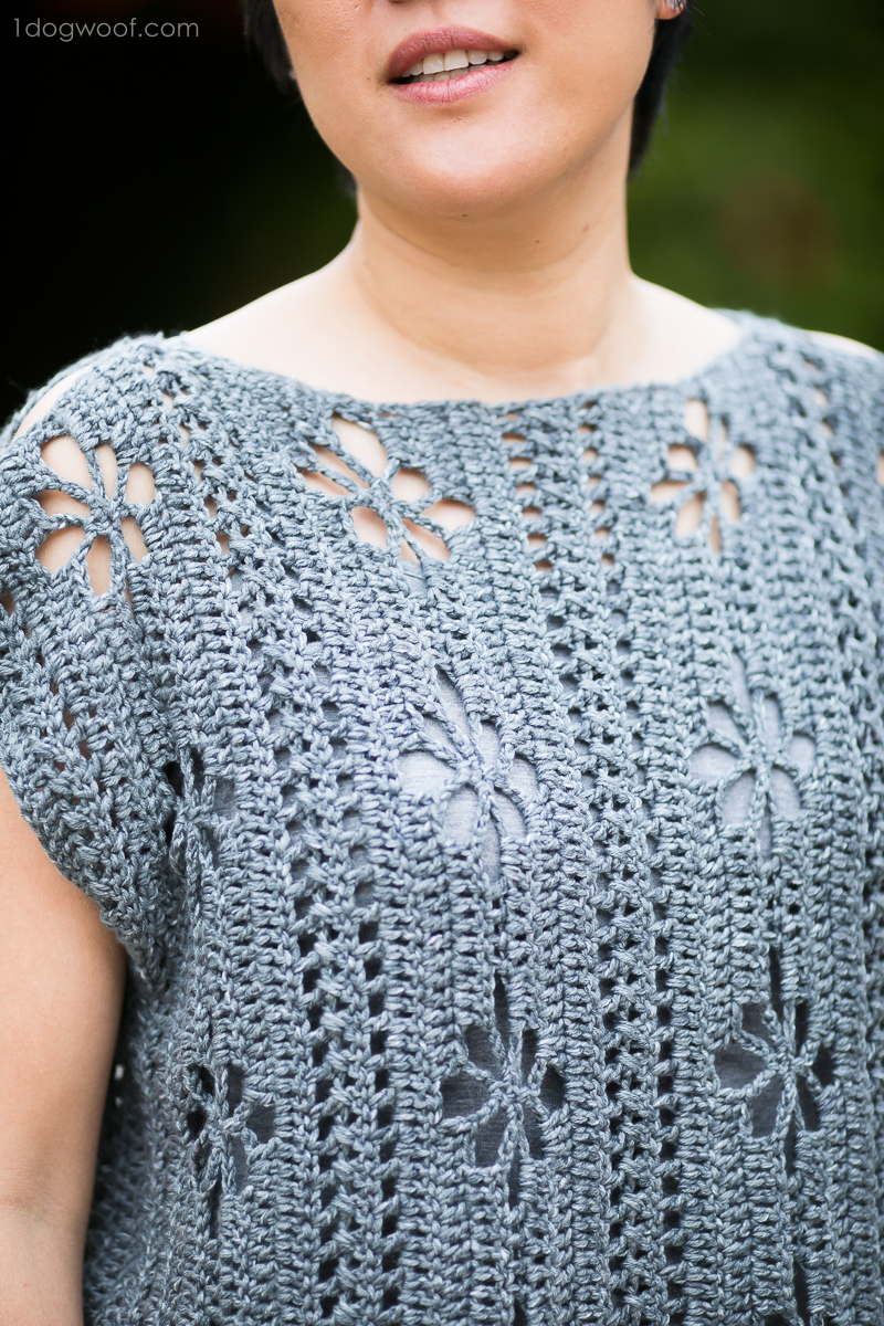 close-up of wildflower top