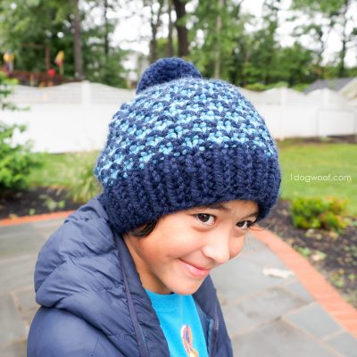 Mixtape Beanie: Free Knit Hat Pattern