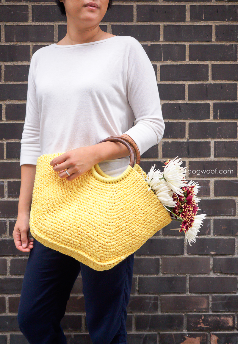Riviera Tote Crochet Pattern