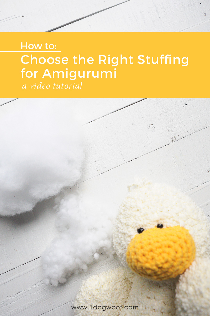 Choosing the Right Stuffing for Amigurumi.