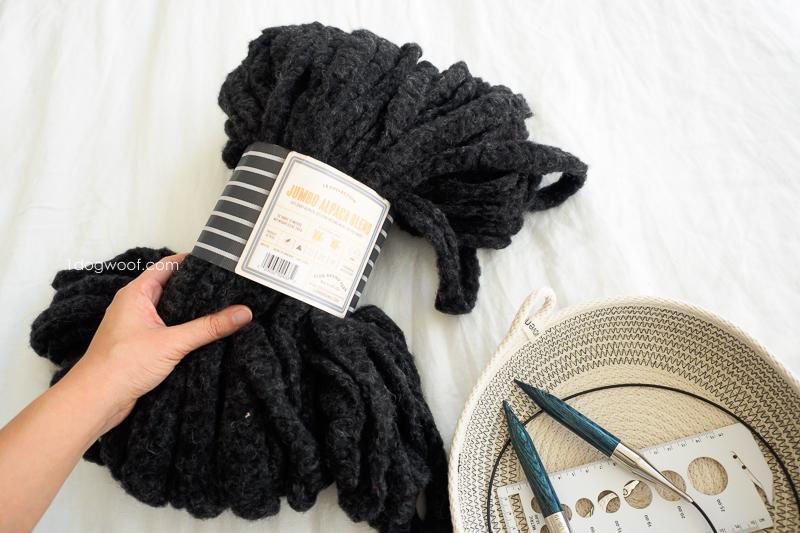jumbo alpaca yarn