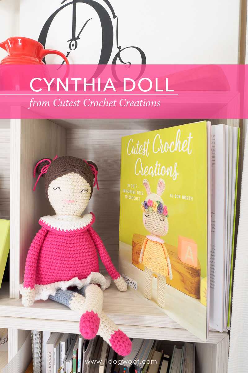 Cynthia Doll from Cute Crochet Creations by Alison North.