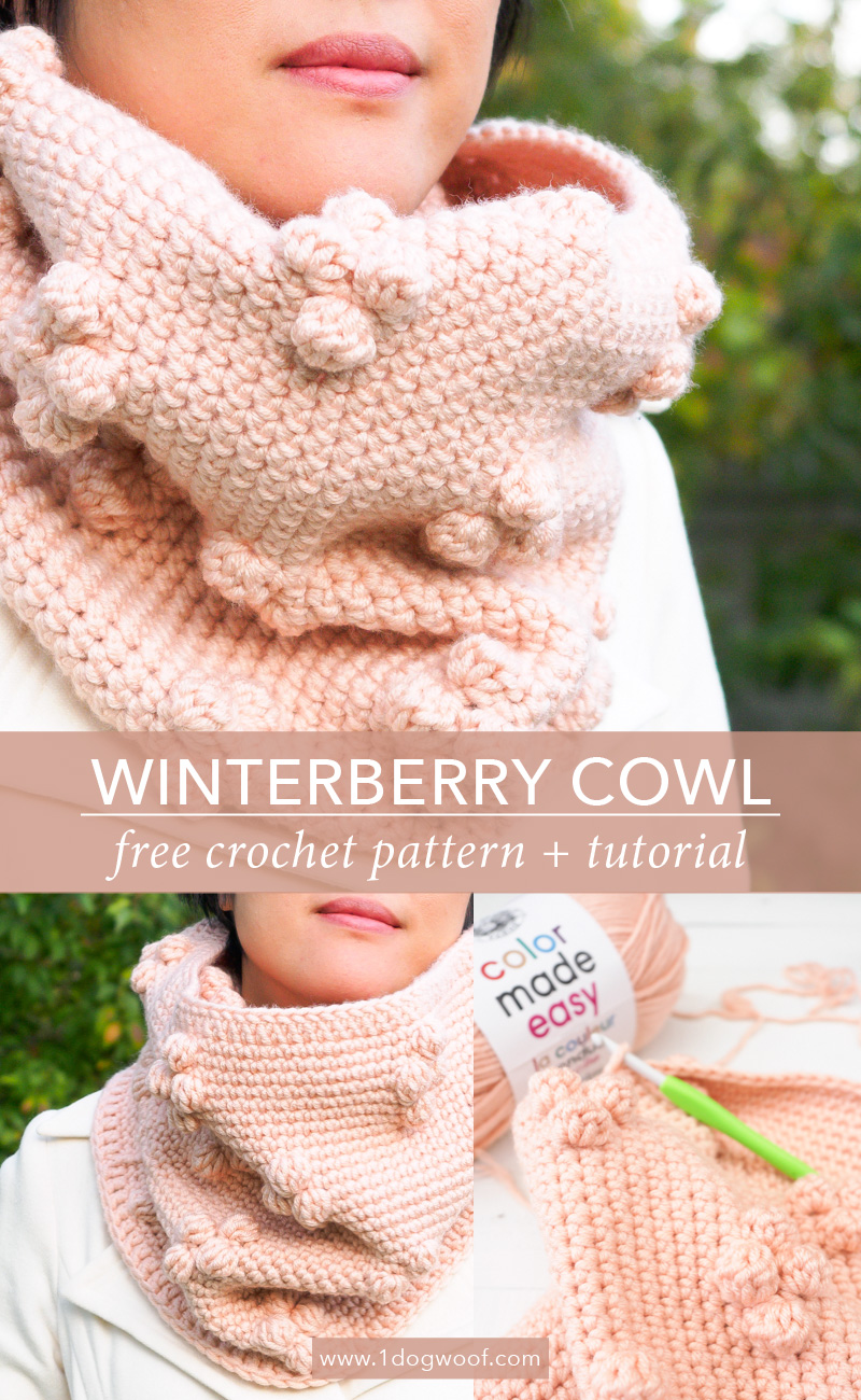 Winterberry Cowl pin image