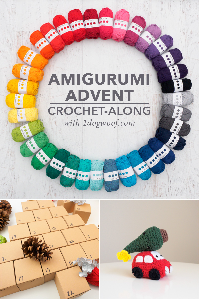 Amigurumi Advent Calendar Crochet-Along