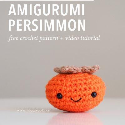 Amigurumi Persimmon Crochet Pattern