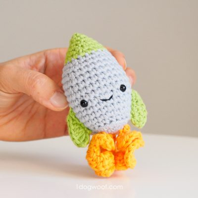 Amigurumi Rocket Crochet Pattern