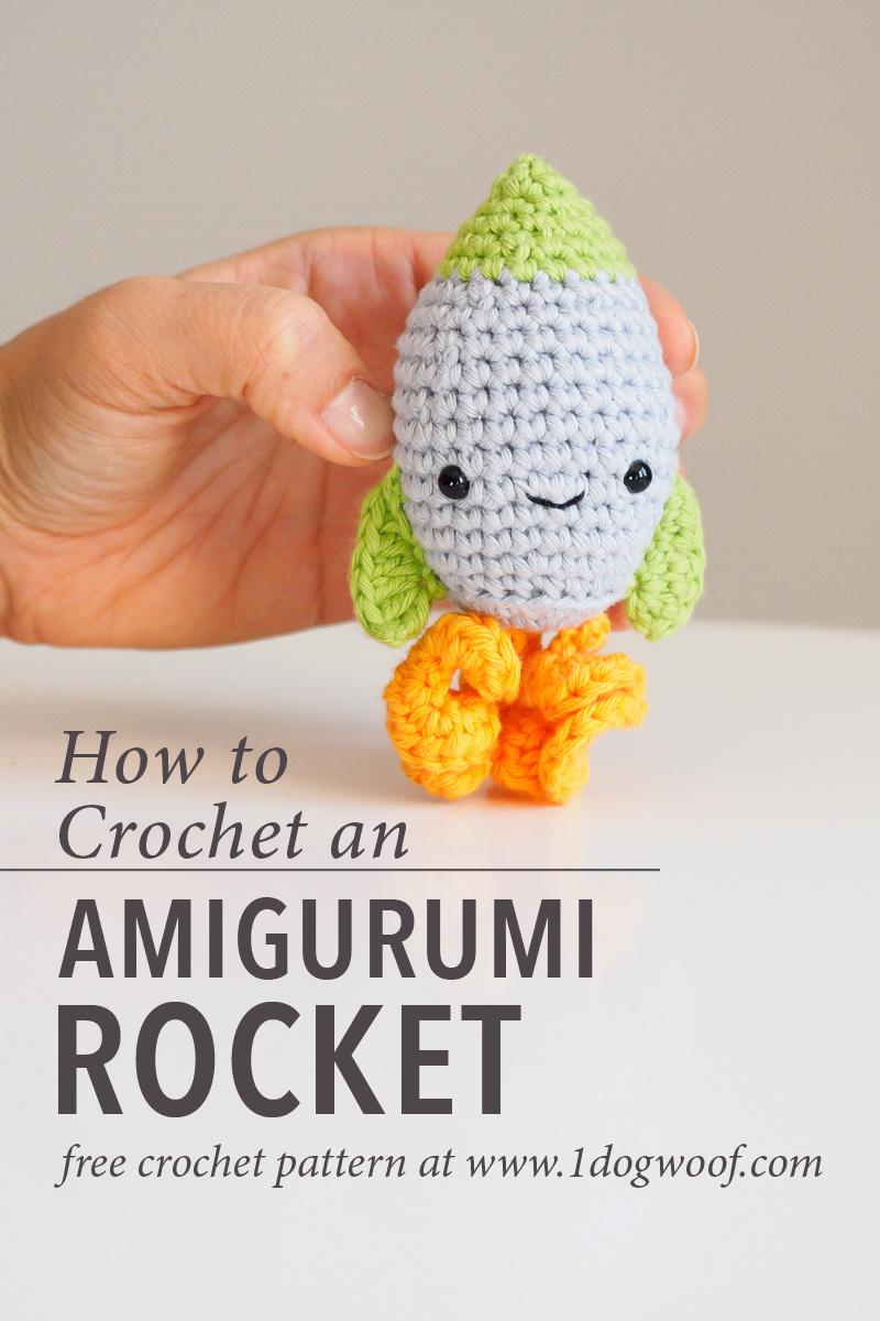 Amigurumi Rocket Crochet Pattern