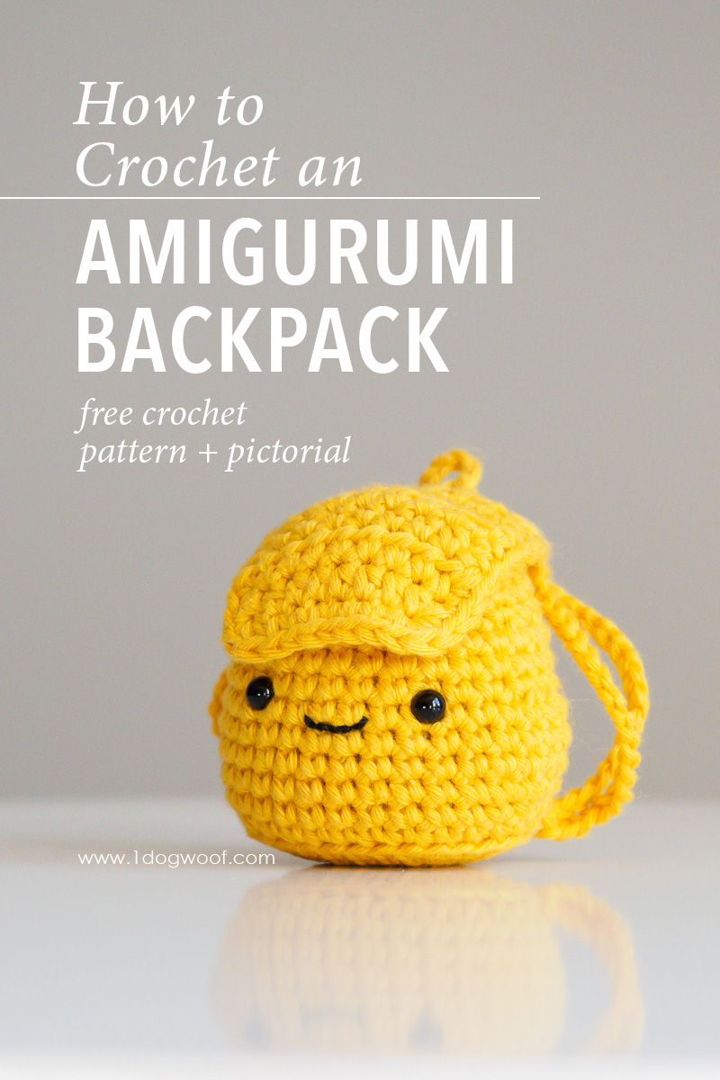 Amigurumi Backpack Crochet Pattern