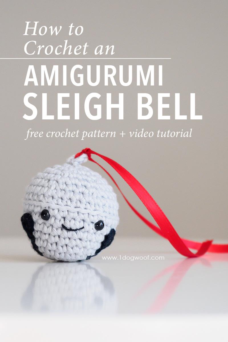 Amigurumi Sleigh Bell or Reindeer Bell.