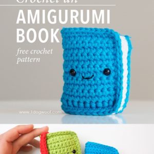 Amigurumi Book Crochet Pattern
