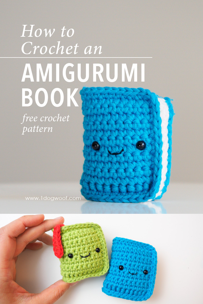 Amigurumi Book Crochet Pattern