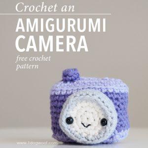 Amigurumi Camera Crochet Pattern