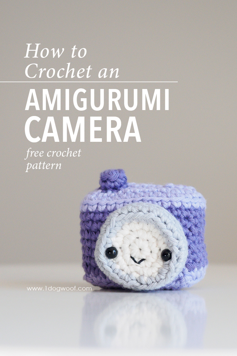 Amigurumi Camera Crochet Pattern