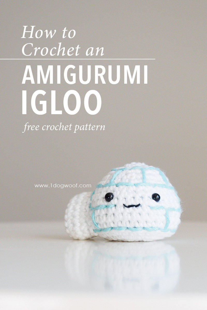 Amigurumi Igloo Crochet Pattern