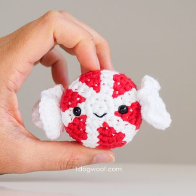 Amigurumi Peppermint Candy Crochet Pattern