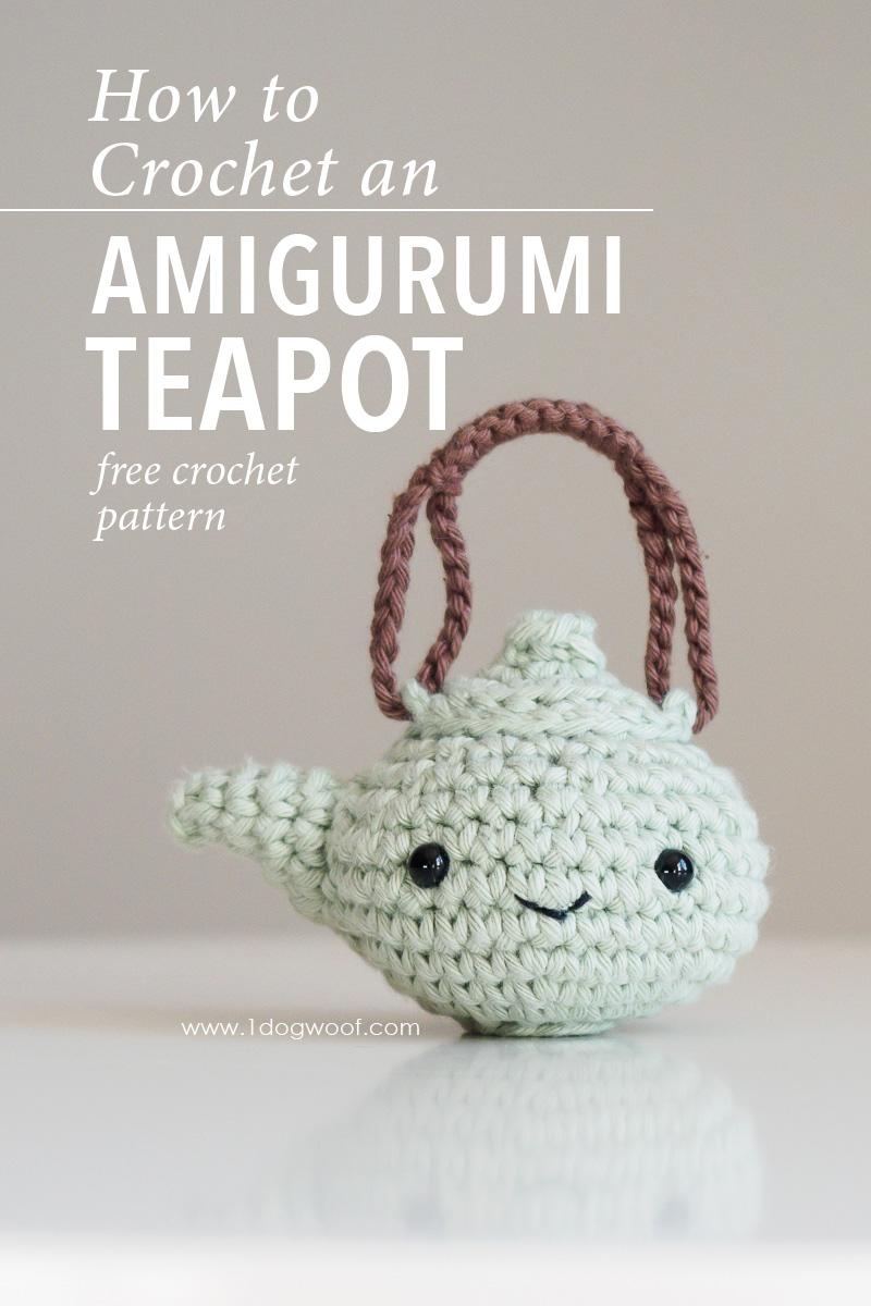 Amigurumi teapot