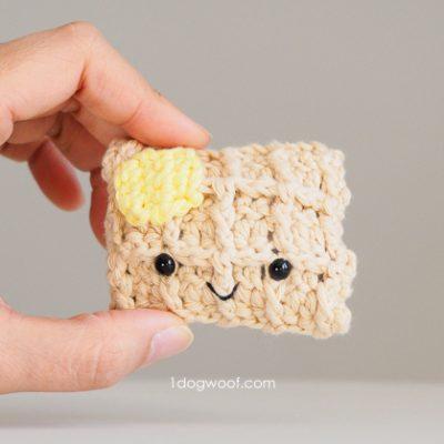 Amigurumi Waffle Crochet Pattern