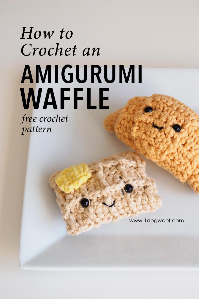 Amigurumi waffle