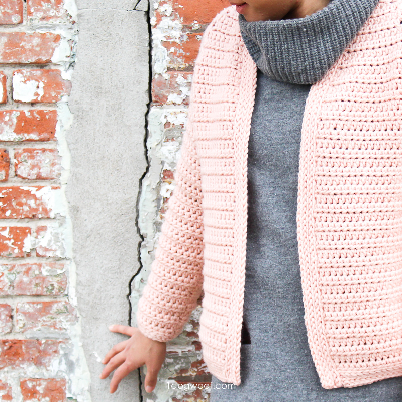 Chunky, warm and cozy Wonderland Cardigan