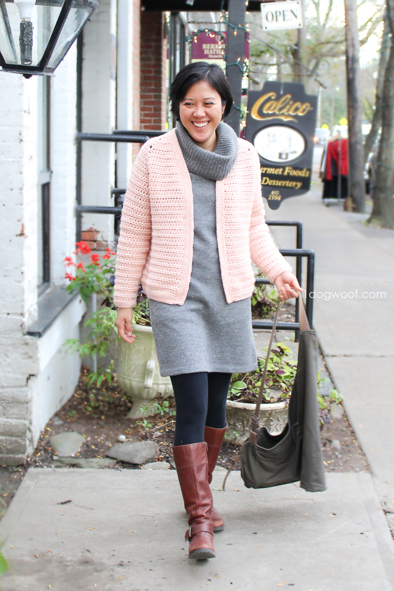 this cardigan is easy to wear and goes with anything