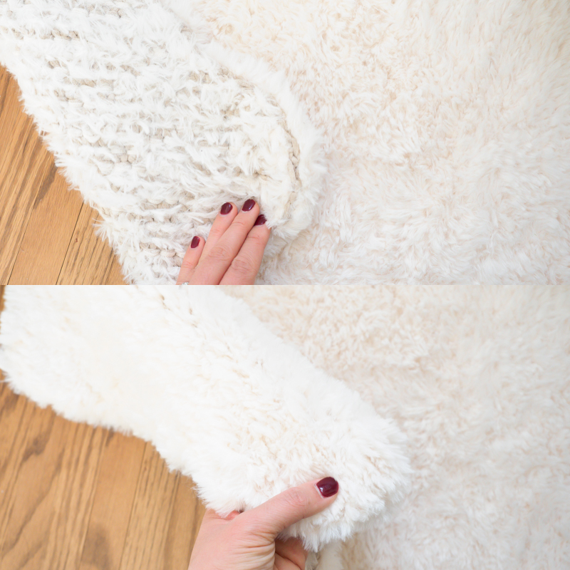Crochet A DIY Sheepskin Rug With Faux Fur Yarn