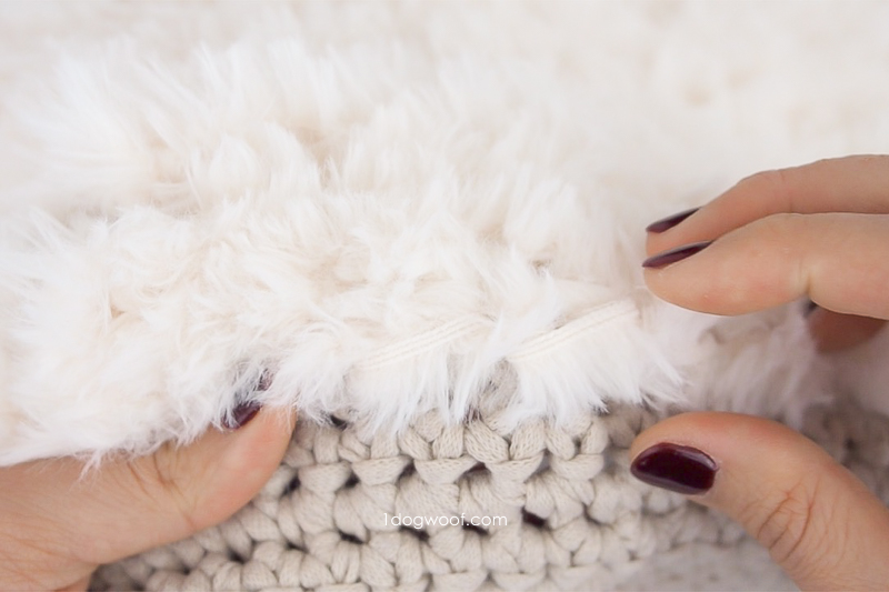 how to fluff the yarn