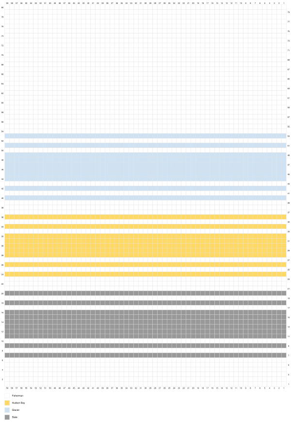 Daydream Blanket color chart