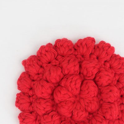 How to Crochet Bobbles in the Round