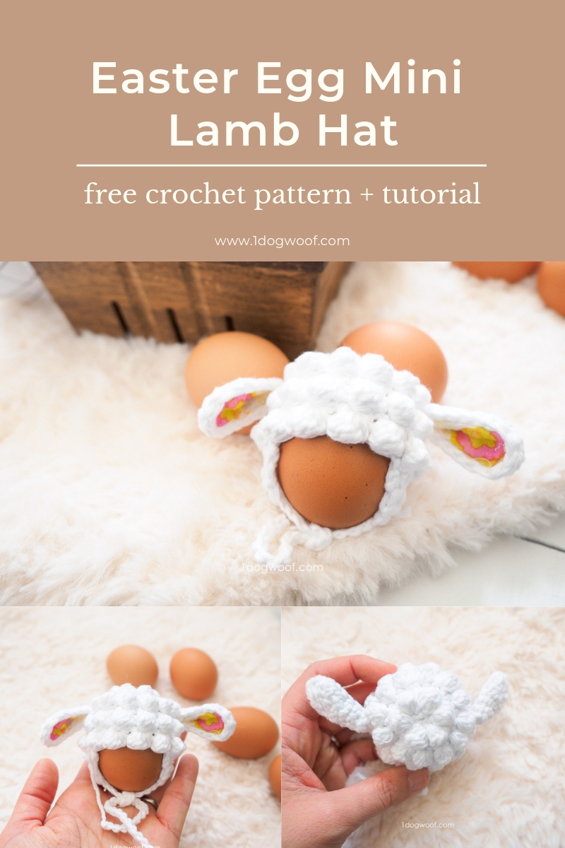 Easter Egg Mini Lamb Hat