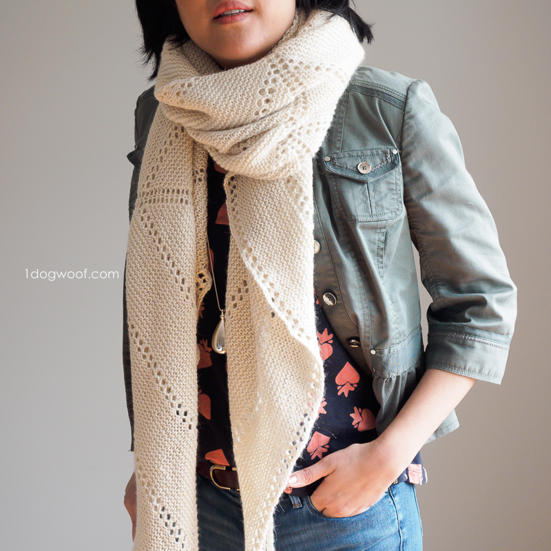 lightweight and cozy super scarf