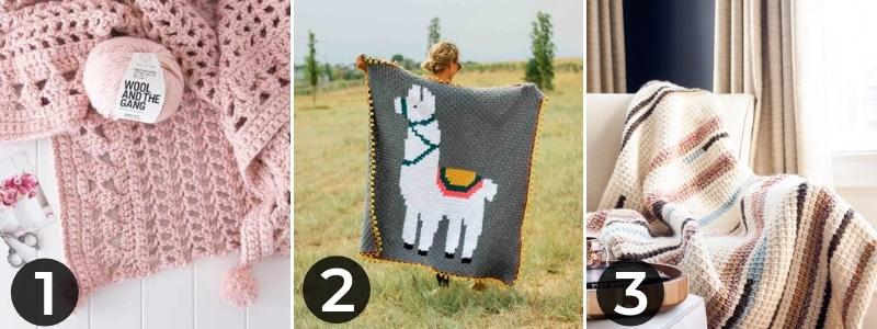 mothers day crochet blanket ideas