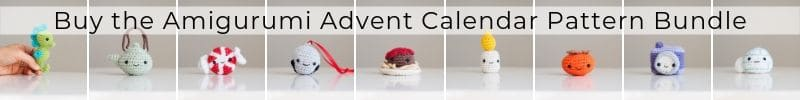 Amigurumi Advent Calendar Pattern Bundle CTA