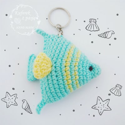 tropical fish amigurumi