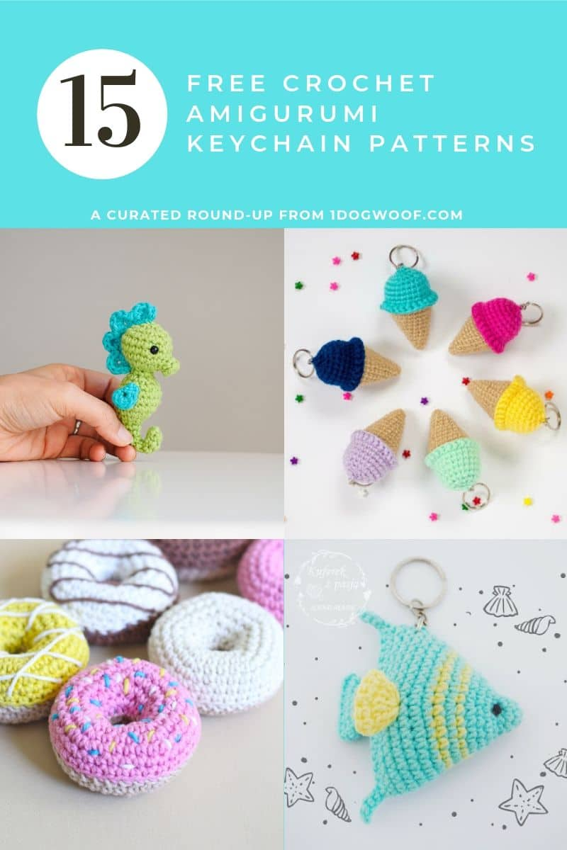 Owl Key Chain Pattern - Knittting Crochet | 1200x800