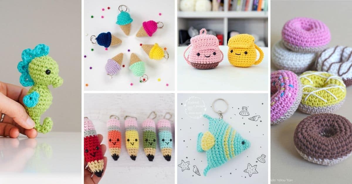 Amigurumi for Beginners Amigurumi Keychain Dog Making lık ... | 628x1200