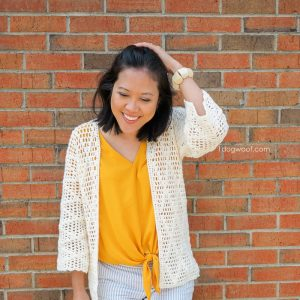 diamond clusters cardigan