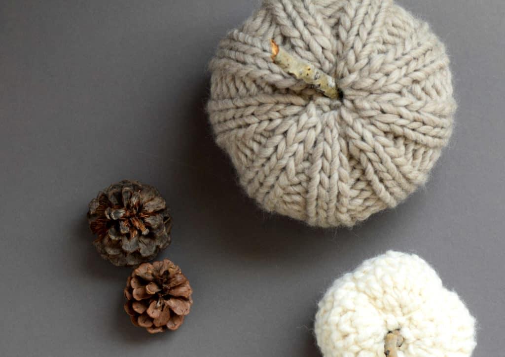 chunky crochet pumpkin pattern