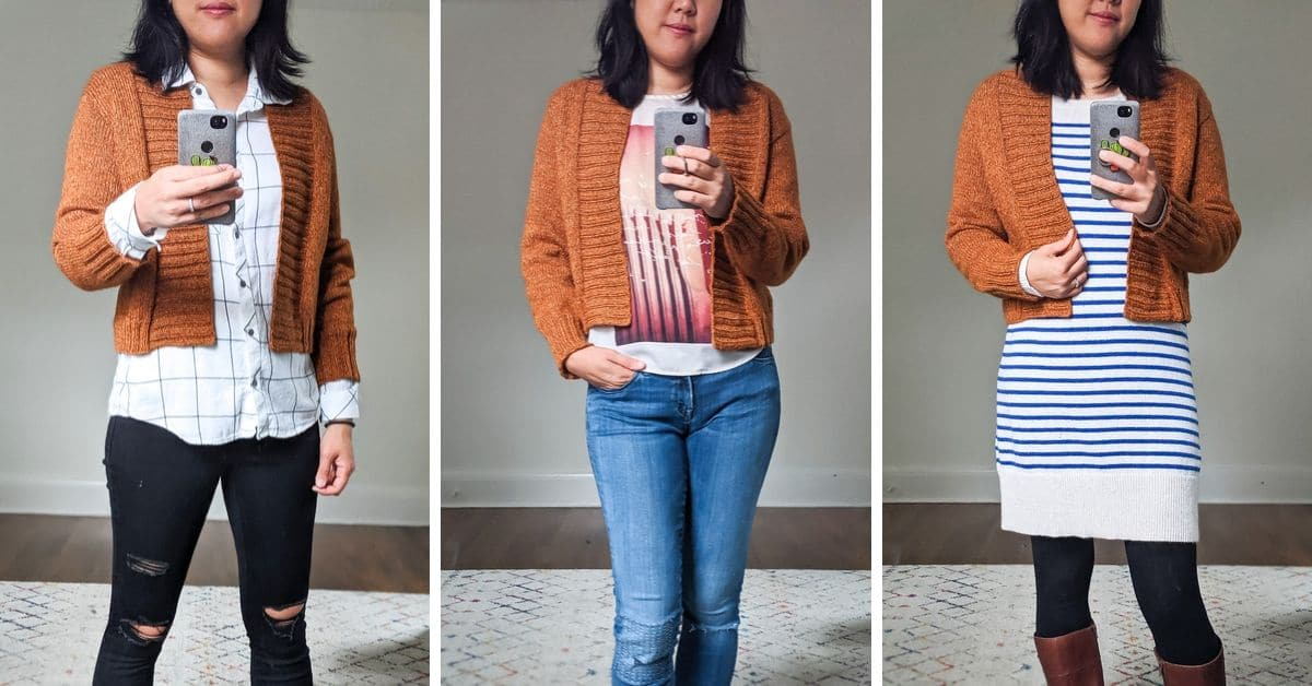 styling the Firefly Cardigan