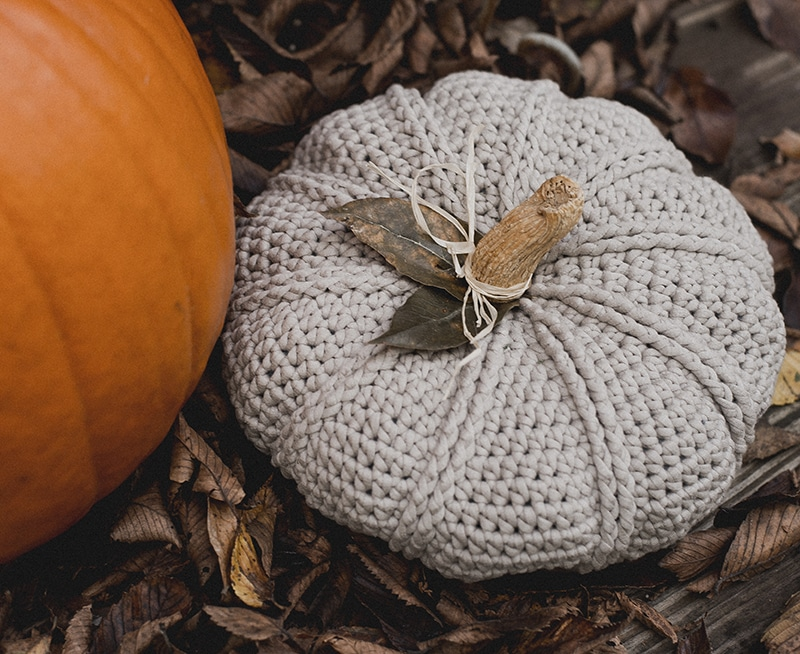 ribbed crochet pumpkin pattern