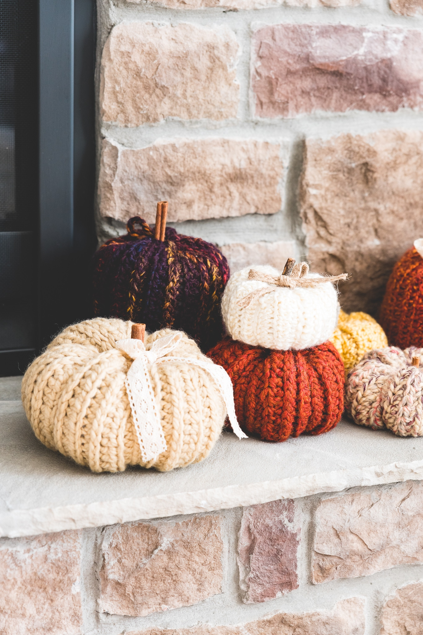 country pumpkin crochet pattern